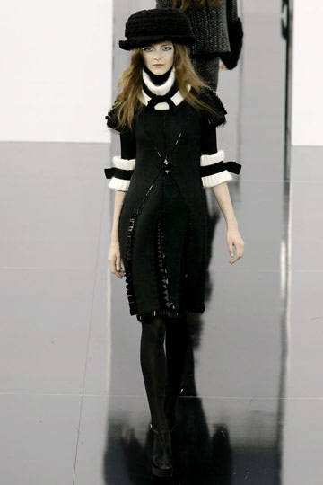 Chanel Fall 2009 RTW :  modern evening chic stylish