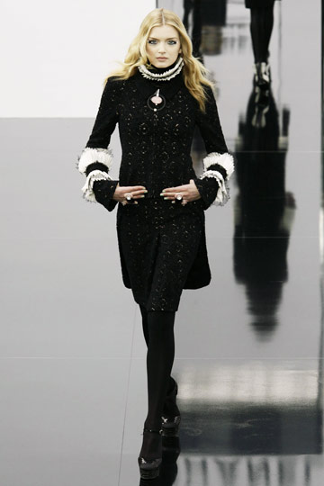 Chanel Fall 2009 RTW :  luxe designer dress evening