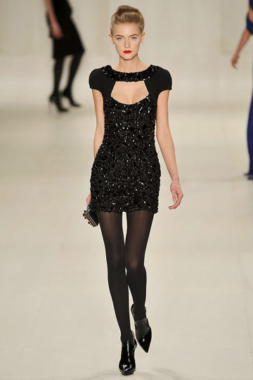 Elie Saab Fall 2009 RTW :  glamour womens dresses evening
