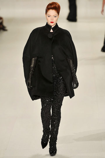 Elie Saab Fall 2009 RTW :  luxe womens fashion modern style