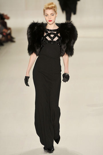 Elie Saab Fall 2009 RTW :  hollywood glamour gown style red carpet womens