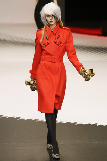 Jean-Charles de Castelbajac Fall 2009 RTW :  paris fashion week style womens hollywood glamour