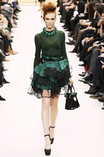 Louis Vuitton Fall 2009 RTW :  luxe cocktail womens dresses