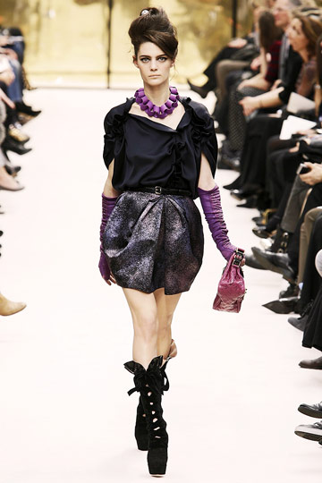 Louis Vuitton Fall 2009 RTW :  luxe sexy evening womens