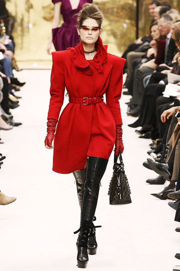 Louis Vuitton Fall 2009 RTW :  luxe designer coats womens