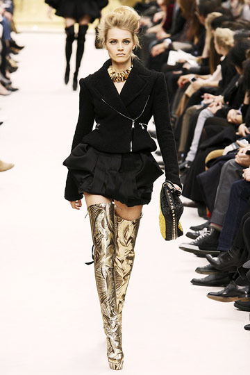 Louis Vuitton Fall 2009 RTW :  luxe jackets louis vuitton cocktail