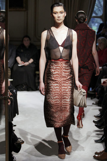 Miu Miu Fall 2009 RTW :  chic cocktail womens miu miu