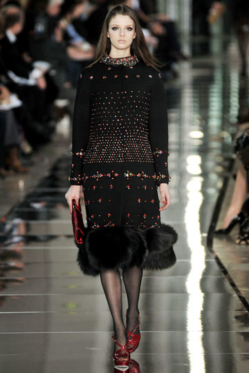 Valentino Fall 2009 RTW :  luxe designer evening hollywood glamour