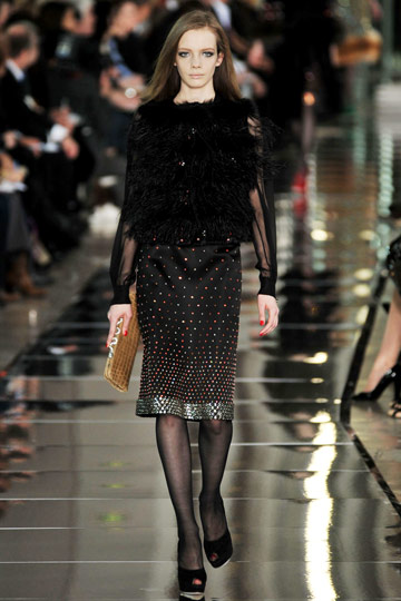 Valentino Fall 2009 RTW :  luxe style cocktail womens