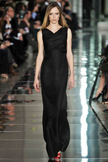 Valentino Fall 2009 RTW :  luxe style womens hollywood glamour