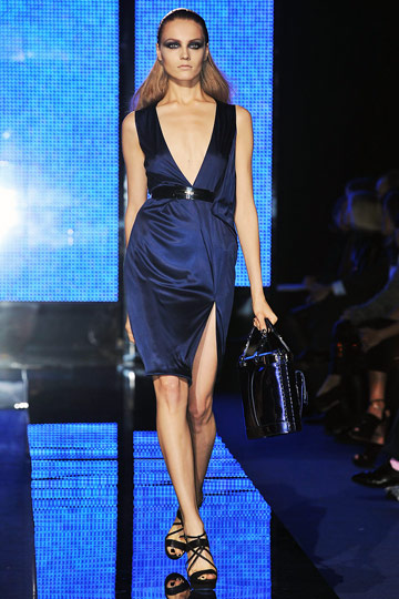 Versace Fall 2009 RTW :  luxe flirty cocktail womens