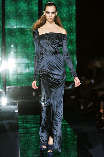 Versace Fall 2009 RTW :  hollywood glamour gown womens hollywood glamour dresses