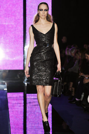Versace Fall 2009 RTW :  luxe style cocktail womens