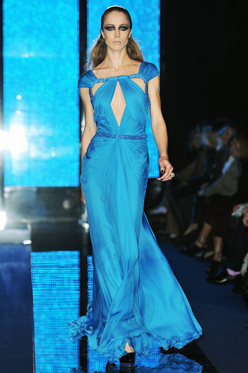 Versace Fall 2009 RTW :  luxe womens hollywood glamour dresses