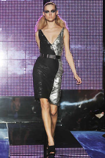 Versace Fall 2009 RTW :  luxe cocktail womens hollywood glamour