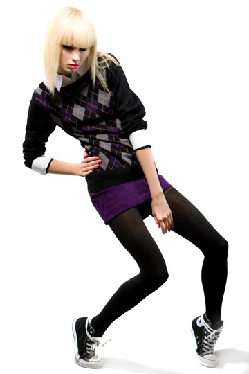 Alice + Olivia Fall 2009 RTW :  mini fashion jumper style