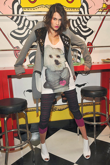 BETSEY JOHNSON::Fall 2009 :  00s does 70s does 50s dogs vintage boho