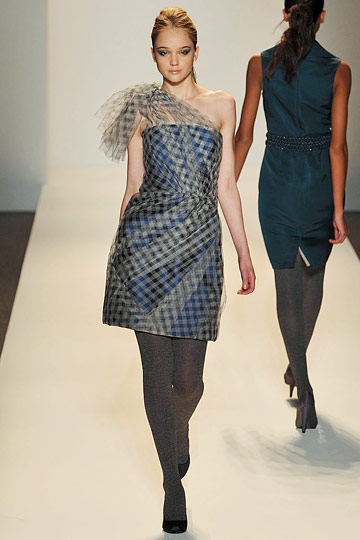 Lela Rose - Lela Rose - Fall 2009 Collection# :  lela rose fall 2009 long sleeves flap pockets