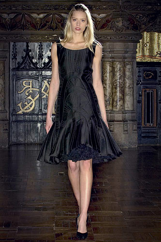Anne Valerie Hash Spring 2009 Couture :  luxe cocktail womens haute couture
