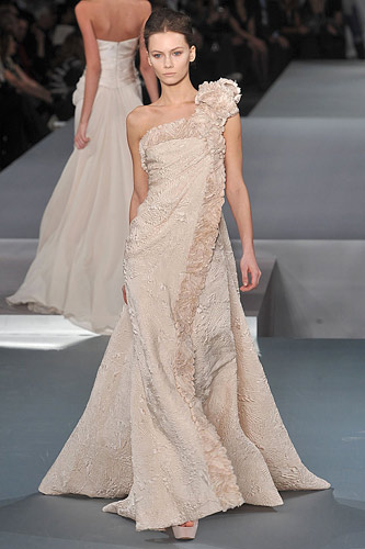 Elie Saab Spring 2009 Couture :  modern designer fashion hollywood womens fashion