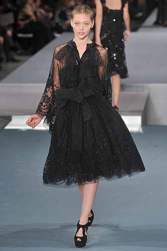 Elie Saab Spring 2009 Couture :  chic womens haute couture hollywood glamour