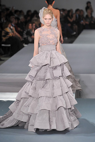 Elie Saab Spring 2009 Couture :  hollywood glamour gown womens haute couture hollywood glamour