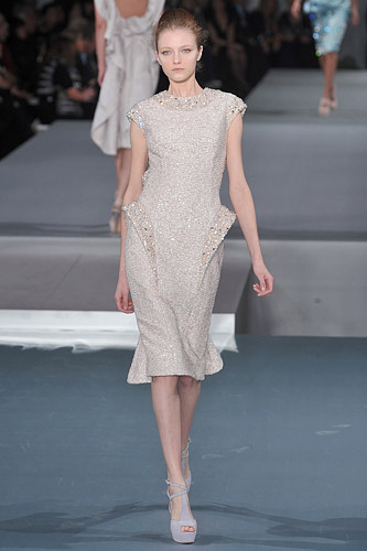 Elie Saab Spring 2009 Couture :  luxe womens haute couture hollywood glamour