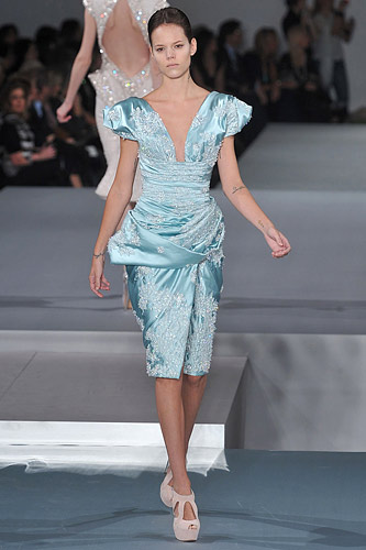 Elie Saab Spring 2009 Couture :  stylish womens haute couture hollywood glamour