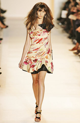 Christian Lacroix - Christian Lacroix - Spring 2009 Collection# :  spring 2009 dress thigh length christian lacroix