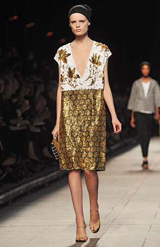 Dries Van Noten - Dries Van Noten - Spring 2009 Collection## :  knee length jackets clothing womens