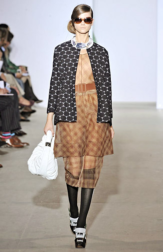 Marni - Marni - Spring 2009 Collection :  knee length sheer belted jackets