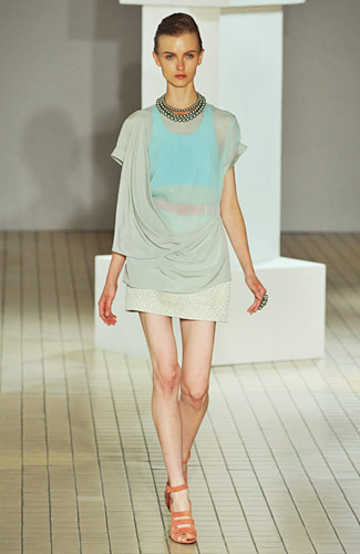 Richard Nicoll - Spring 2009 Collection :  s09 spring collections richard nicoll