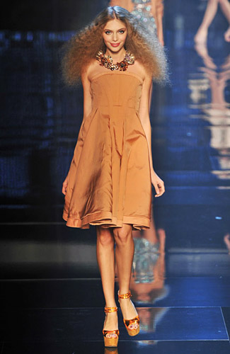 Sonia Rykiel - Sonia Rykiel - Spring 2009 Collection## :  spring 2009 loose knee length three quarter sleeves