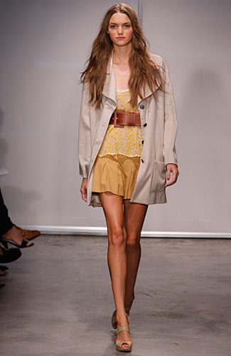 Catherine Holstein - Womenswear, runway, show, collection, designer, fashion, New York, clothing line, photos, gallery, slideshow, spring, 2009, season - Spring 2009 Collection :  catherine holstein long sleeves womens clothing