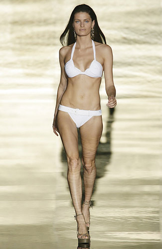 Rosa Cha Spring 2009 RTW :  beach designer swimsuit sexy