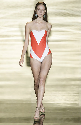 Rosa Cha Spring 2009 RTW :  modern swimsuit chic stylish