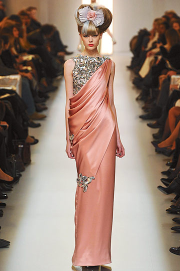 Chanel Spring 2010 Couture :  formal couture gown dress