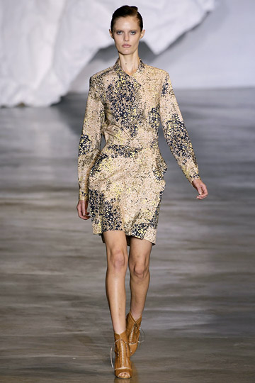 Cacharel Spring 2010 RTW :  tan cacharel clothing womens