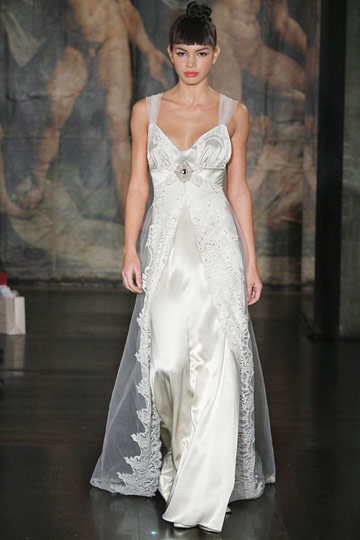 Claire Pettibone Spring 2010 Bridal