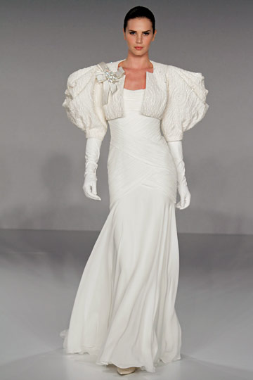Platinum  for Priscilla of Boston Spring 2010 Bridal