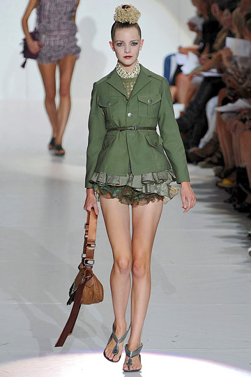 Life On Minden Mad For Ruffles Marc Jacobs Spring 2010