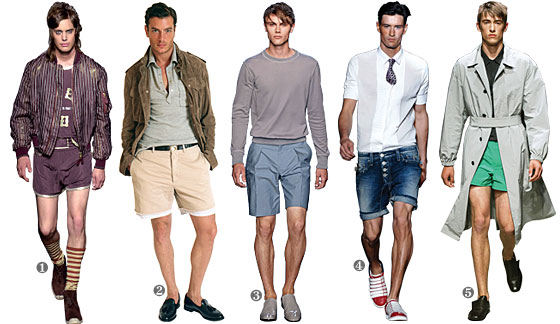 Men's Fashion - How to Wear Shorts Plus T-Shirts to Wear on Top ...