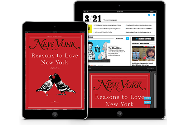 New York Mag app