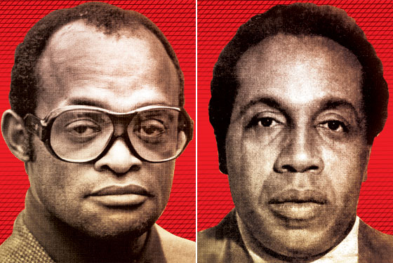 Frank Lucas and Nicky Barnes