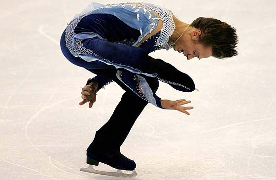 Johnny Weir Is The Best Male Figure Skater In United States And Most Outrageous This Fitness Routine That Got Him To 2006 Winter