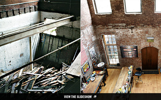 A Red Hook Warehouse Turned Live Work Haven   Home Design Fall ...