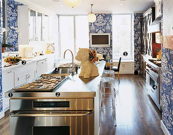 A baker 39 s dream new york magazine great kitchens Baker group kitchen design