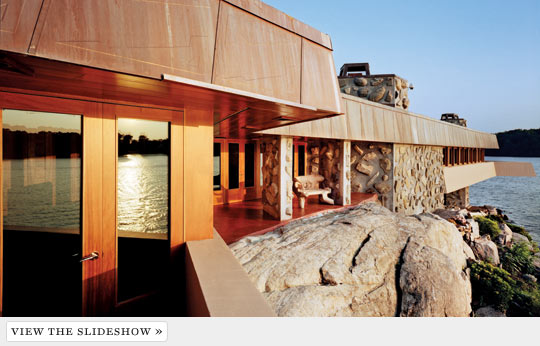 Photographs by David Allee In 1950, at 83, Frank Lloyd Wright designed ...