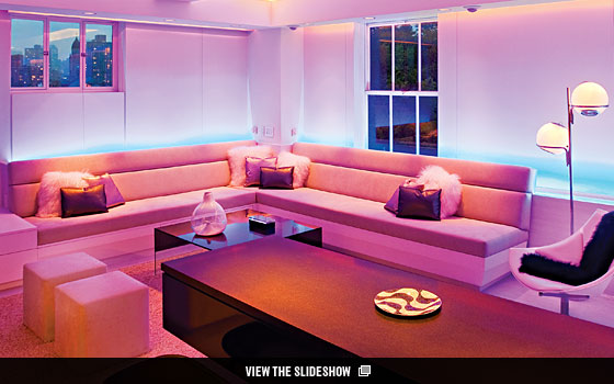 The Great Room - Architect Joel Sanders Has Designed an LED-Lit ...