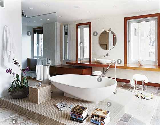 The Well-lived Tub - New York Magazine Great Bathrooms